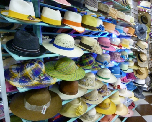 Panama hats made in Montecristi