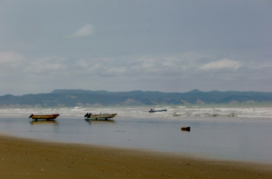 Canoa Beach looking south