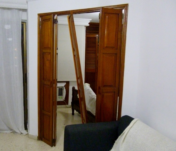 broken bedroom door