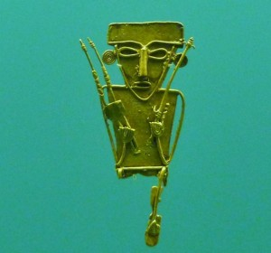 pre-columbian gold artifact Cartagena