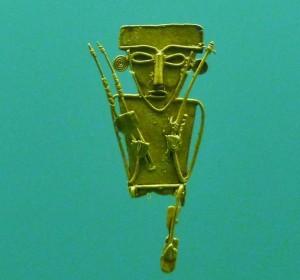 pre-columbian gold artifact Cartagena