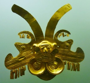 pre-columbian gold from the god museum Cartagena