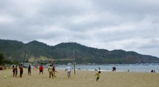 Puerto Lopez beach