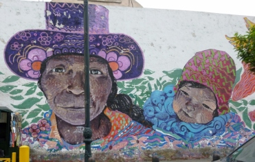 a mural - Lima