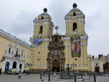 the Cathedral - Lima