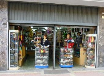a peek in a Lima store