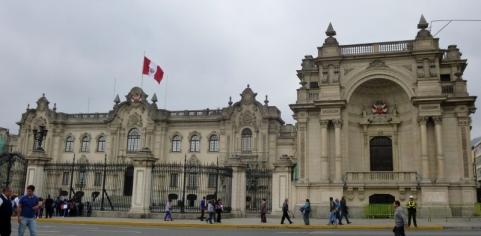 the President's Palace - Lima