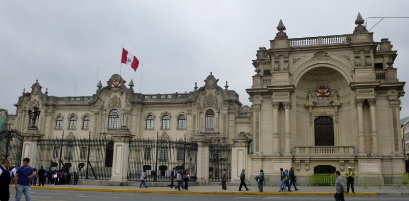 the President's Palace - Lima