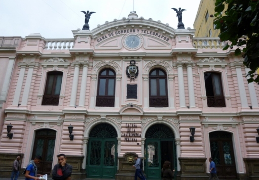 post office and telegraph station - Lima