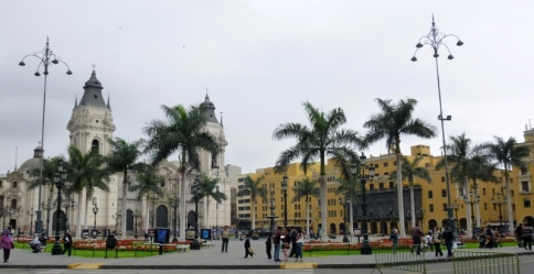 Plaza in Lima