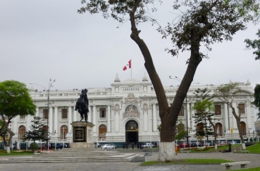 the Legislature building - Lima