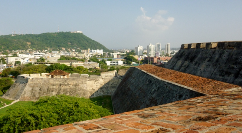 area surrounding the Castillo