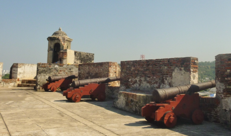 cannons at the ready