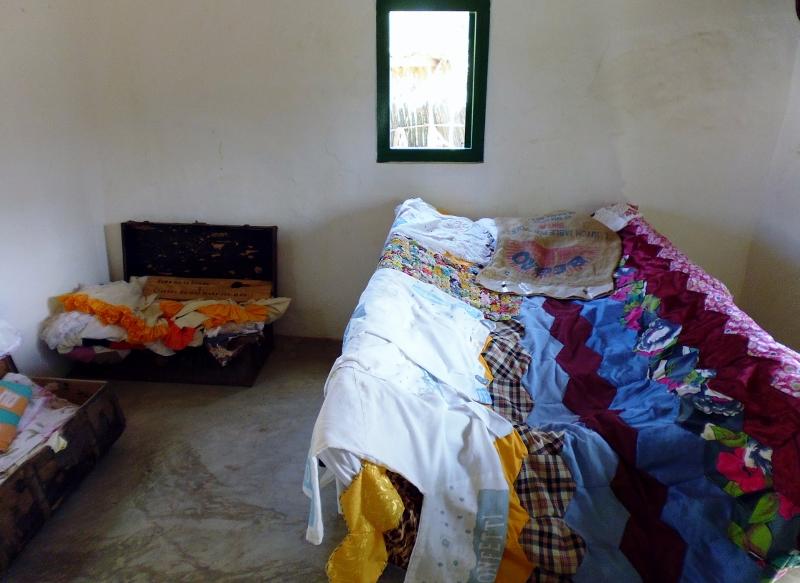 master bedroom in Kunuku house