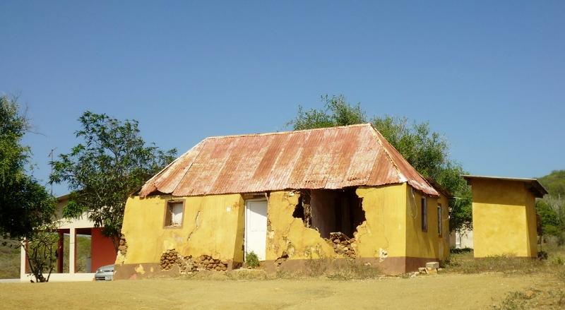 ruin of Kunuku house