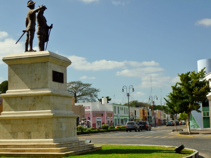 Paseo de Montejo Intersection, Merida