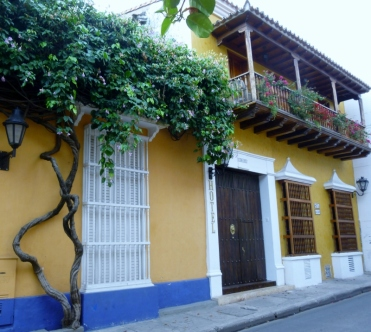 old city in Cartagena