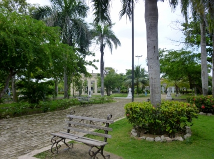 Park at Museum of Rafael Nunez, Cartagena