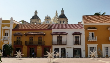 Square near the Clock Tower, Cartagena
