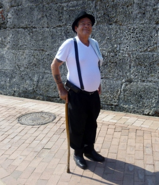proud gentleman, our guide, Irsis - Cartagena, Colombia