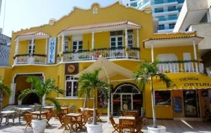 a hotel near Bocagrande, Cartagena