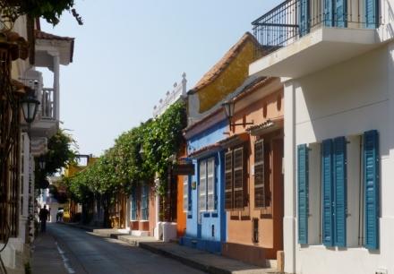 street scene Cartagena
