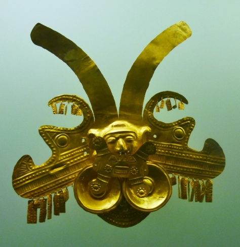 ornament using lost wax technique, Gold Museum, Cartagena