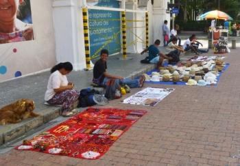 street vendors, Cartagena