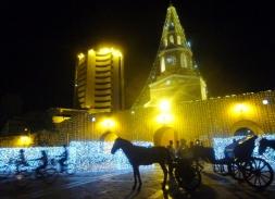 Clock Tower and carriage, Cartagena