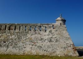battlements and sentry post, Cartagena