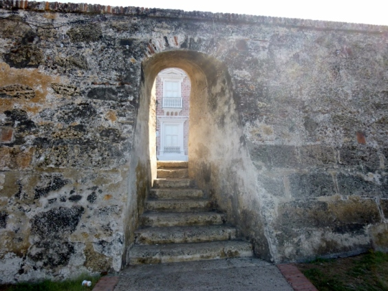 door way in the wall, Cartagena
