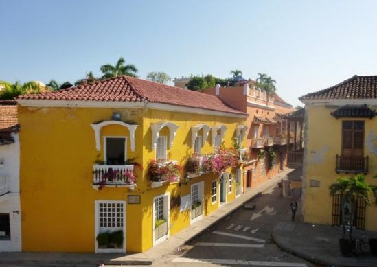 street scene, Cartagena