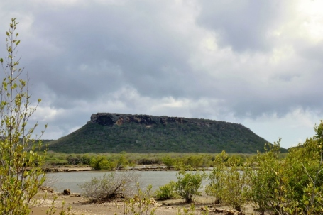 rock formation near Salt Pans