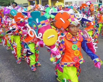 Children's Carnival Parade- Curacao