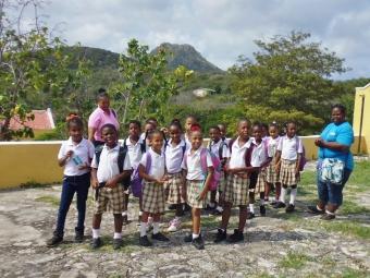 children's field trip - Savonet Museum- Curacao