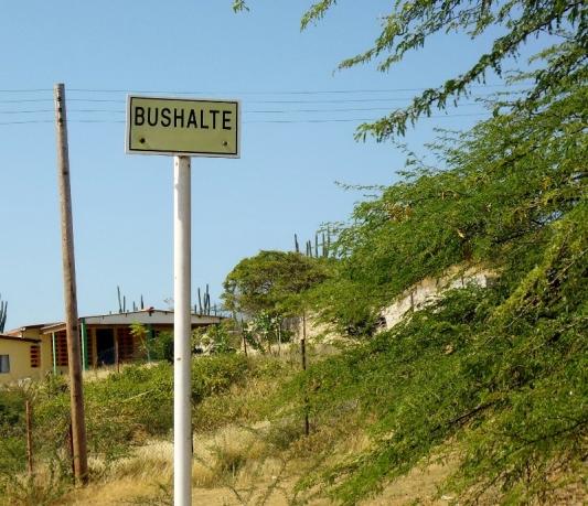 Bus Stop = Bus Halte