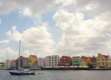 Willemstad harbor and waterfront
