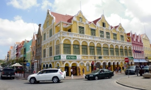 building alongside Willemstad waterfront