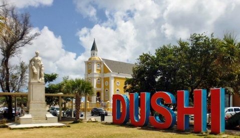 """Dushi"" - Sweet or good -Punda District - Willemstad"