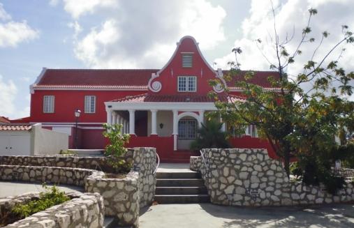plantation home at Landhuis Zeelandia