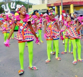 Children's Carnival Parade - Curacao