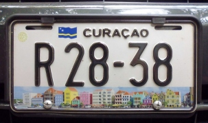 Curacao license plates