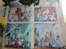 Kura Hulanda Museum - wall mural
