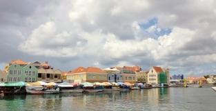 Punda District - floating market