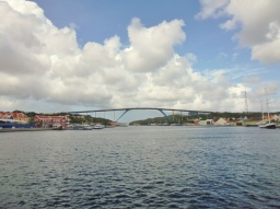 Queen Juliana Bridge - Punda District - Willemstad