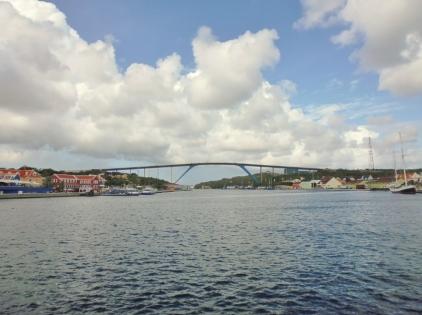 Queen Juliana Bridge - Punda District - Willemstad