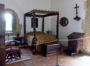 inside Alcázar de Colón