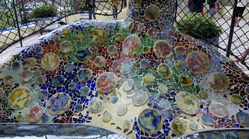 mosaic Casa Batllo