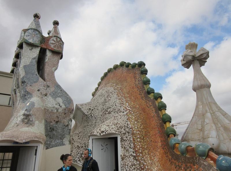 rooftop - Casa Batllo