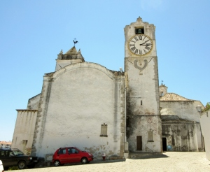 church tower, clock & vane